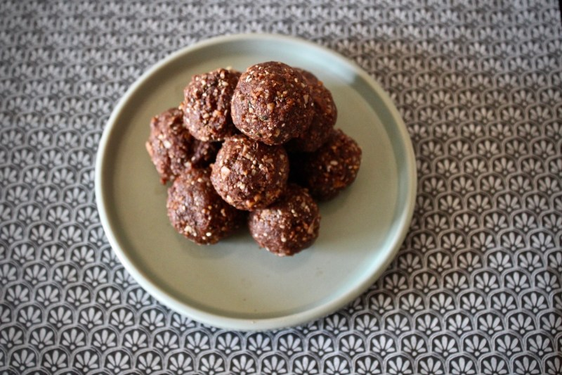 Emotional Contagion - Chocolate Coconut Energy Bites