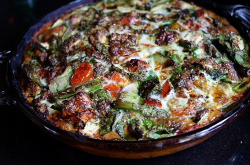 purpose in leisure time - whole30 sweet potato crusted quiche