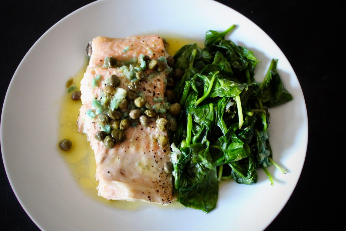 Fundamental Attribution Error - Whole30 Lemon and Caper Salmon