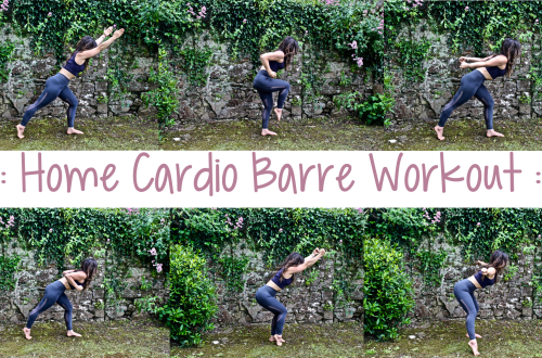 Home Cardio Barre Workout