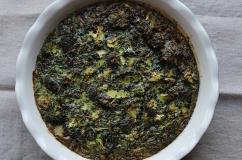 "Learn to Flourish - Whole30 Broccoli ""Cheese"" Frittata"