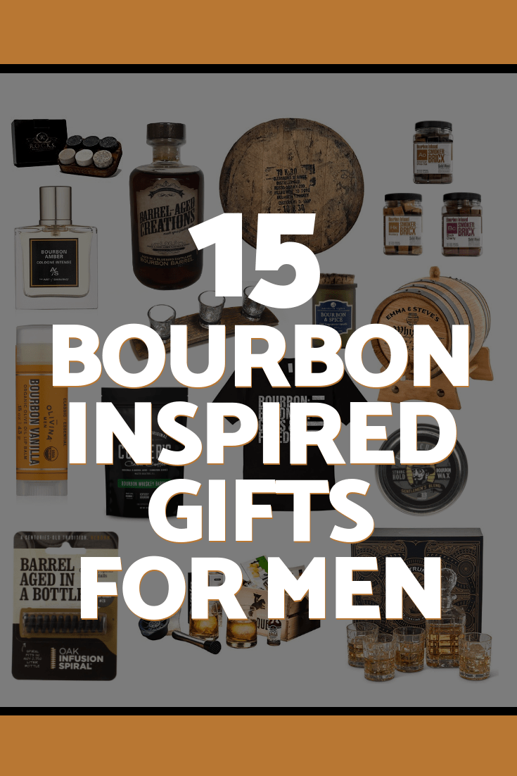 15 bourbon inspired gifts for men, barrel aged creations