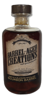 bourbon barrel aged maple syrup, bourbon inspired gifts for him, barrel aged creations, barrel-aged