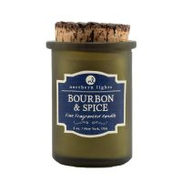 bourbon candle, barrel aged creations, bourbon inspired gifts for men