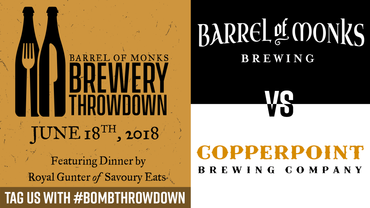 Brewery Throwdown vs. Copperpoint Brewing