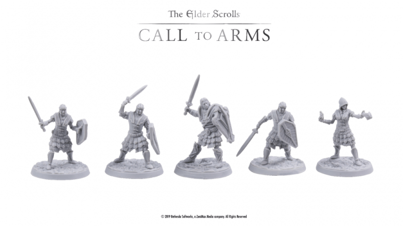 Check out the miniatures from Elder Scrolls: Call to Arms