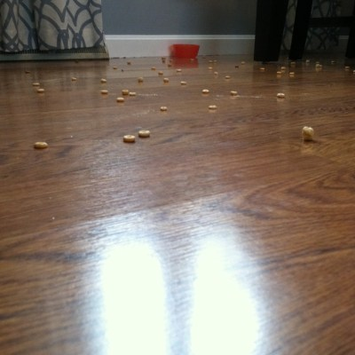 How Spilled Cheerios Taught Me That Grace Laughs