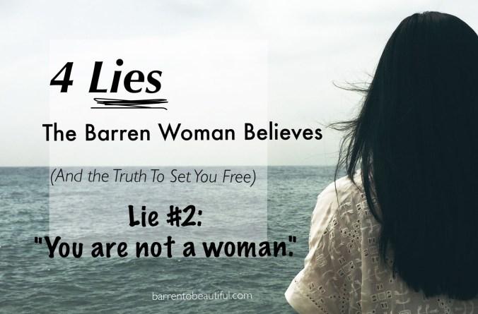 Lie 2 Not a woman