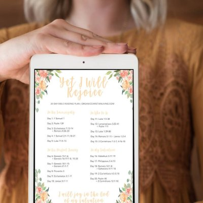 Infertility Bible Reading Plan: Yet I Will Rejoice