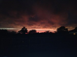 Sky in Missouri Monday night Photo credit:  Clarissa Weter