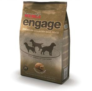 bag of Engage chicken dog feed