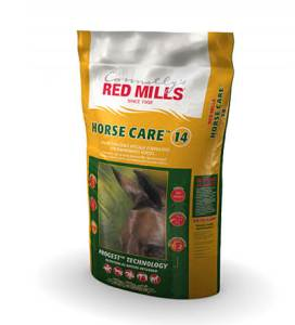 Bag of Horse care 14 horse feed