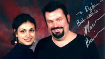 Morena Baccarin and I.