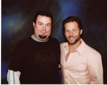 Me and Jamie Bamber. Apollo on Battlestar Galactica