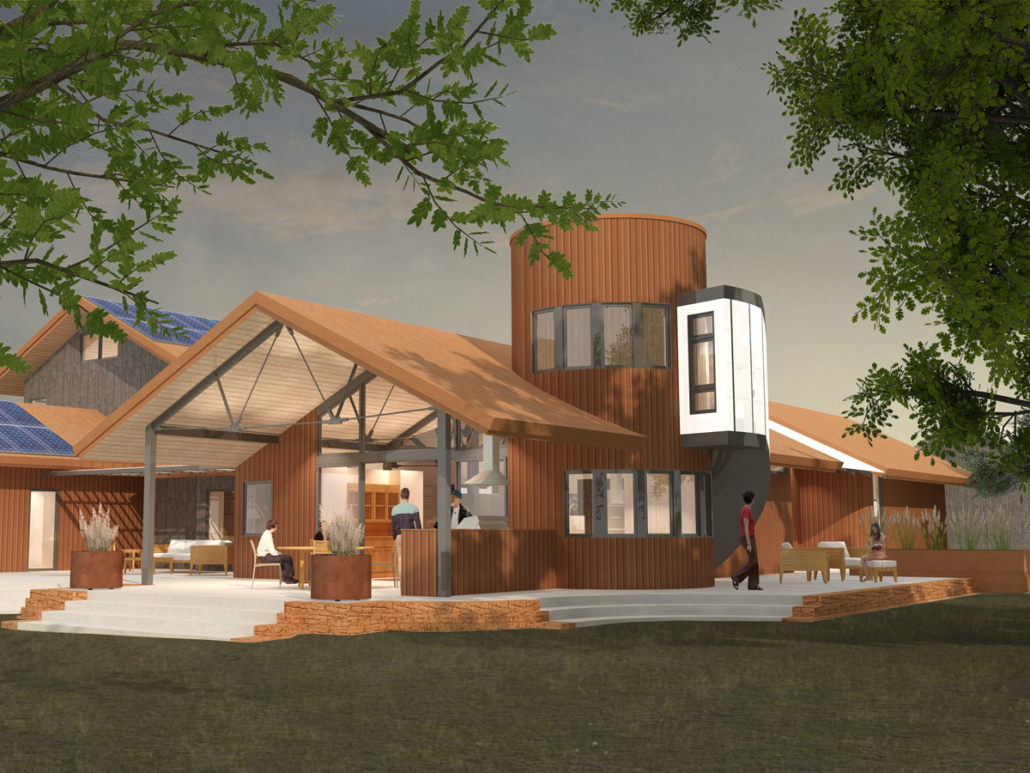 Modern Farmhouse  Barrett Studio Architects
