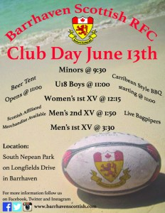 Club Day June 13