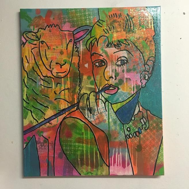 Break on through by Barrie J Davies 2016