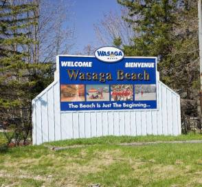 Wasaga Beach Sign