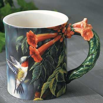 Barrier Bay Resort Gift Mug - Humming Bird
