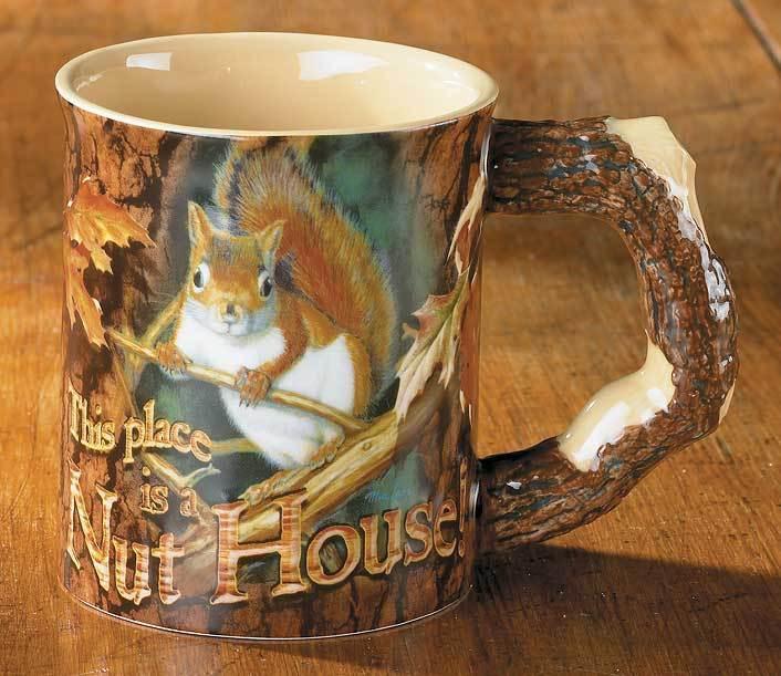 Barrier Bay Resort Gift Mug - Nut House