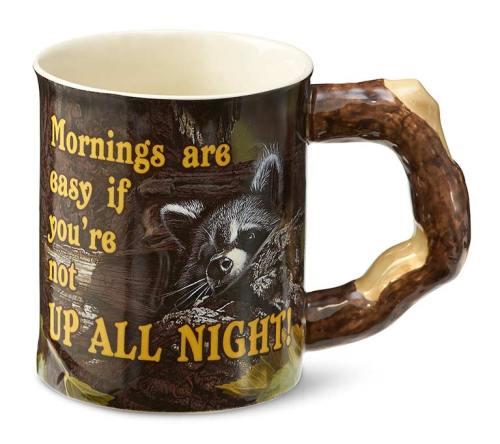 Barrier Bay Resort Gift Mug - Racoon Mug