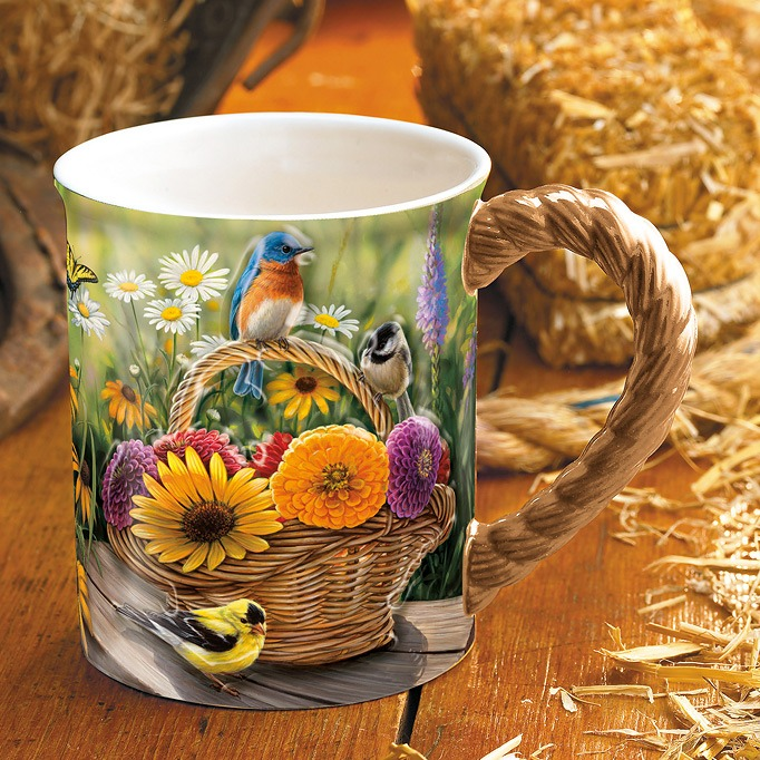Barrier Bay Gift Mug - Summer Bouquet