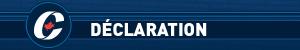 """Logo des conservateurs avec le titre """"Déclaration"""""""