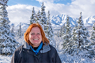 photo of Candy Harrington in Denali National Park, Alaska