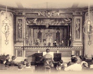 Representación de Guignol en Vichy. Musée théâtre Guignol, Brindas (Lyon)