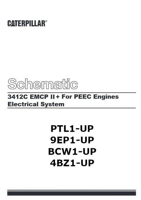 CAT Diesel Engine electric and electronic manuals