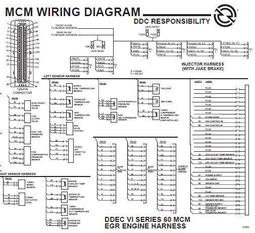 detroit wiring schematics  russell fuel filter  cusshman