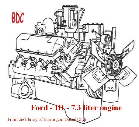 International IH T444E specs, bolt torques and manuals