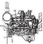 Komatsu 6D107E PDF engine manuals, specs, bolt torques