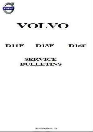 Volvo Service Topics for diesel engines