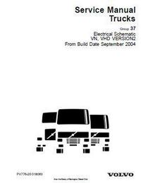 Volvo diesel engine electrics, electronics, utility