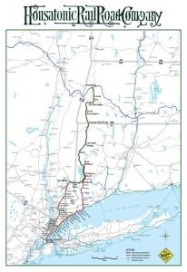 Barrington Institute Train Campaign line map