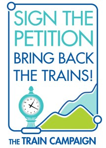 Train Campaign Petition Button 2014 large