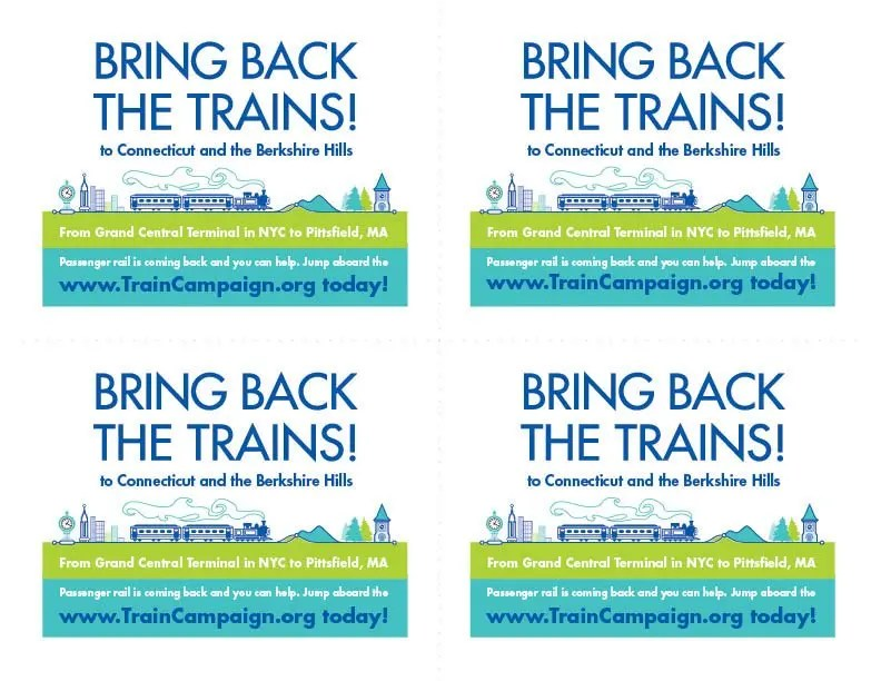 Barrington Institute Train Campaign 2014 Postcards-sheet
