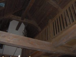 Interior Beam Remodeling Fort Worth, Texas