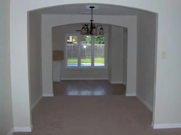 Room altering to new dining room