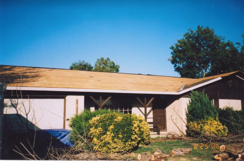 Before interior exterior remodeling