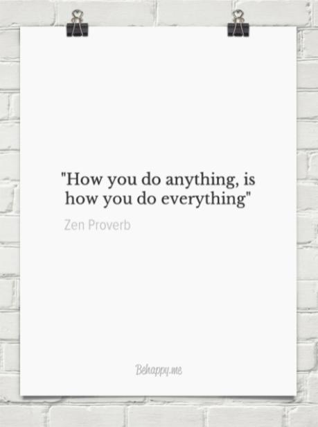 How you do Zen
