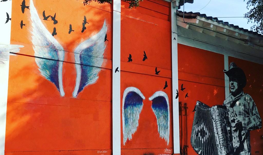 Colette Miller street art in LA