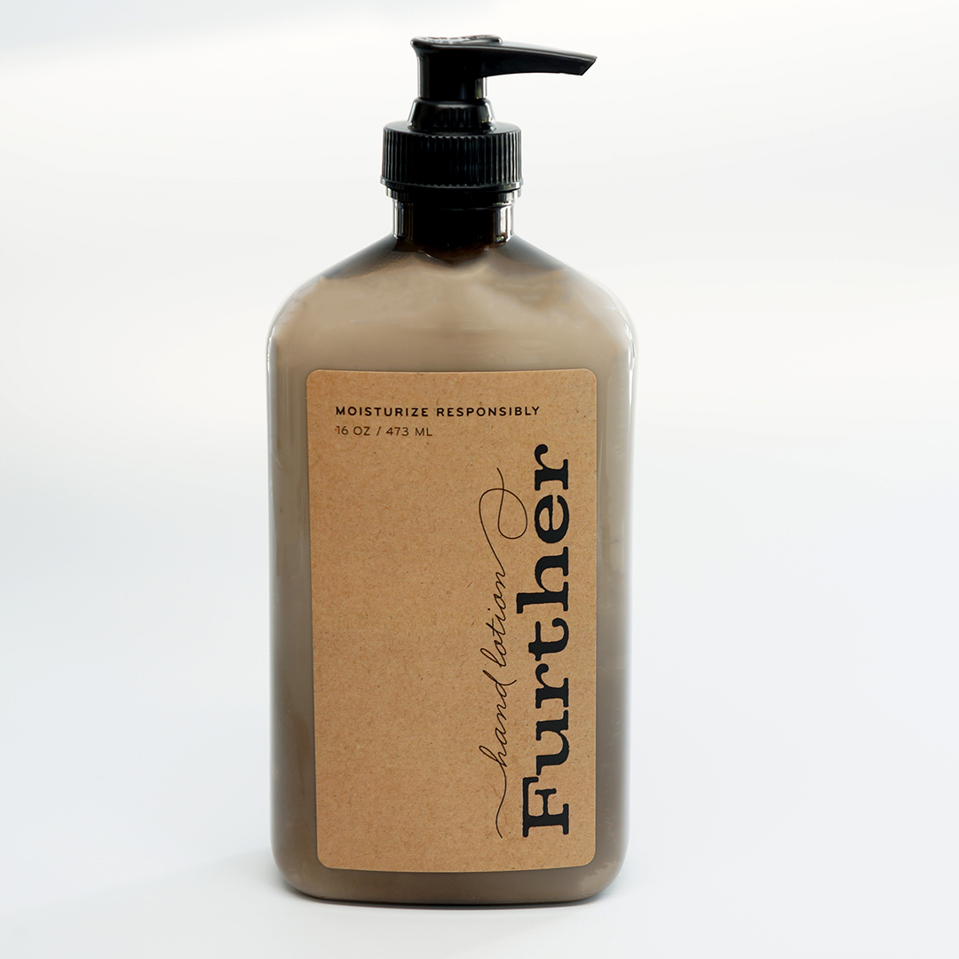 lotion from Further Products for hand, body, & face