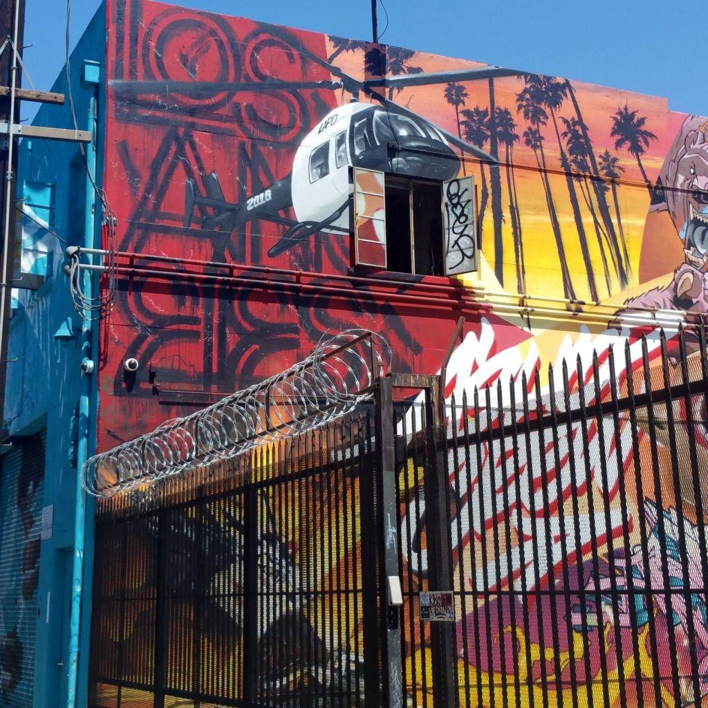 street art in Arts District L.A.