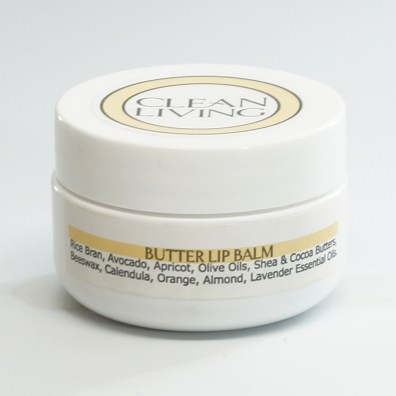 Clean Living Butter Lip Balm