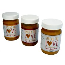 organic peanut butter from Spread the Love