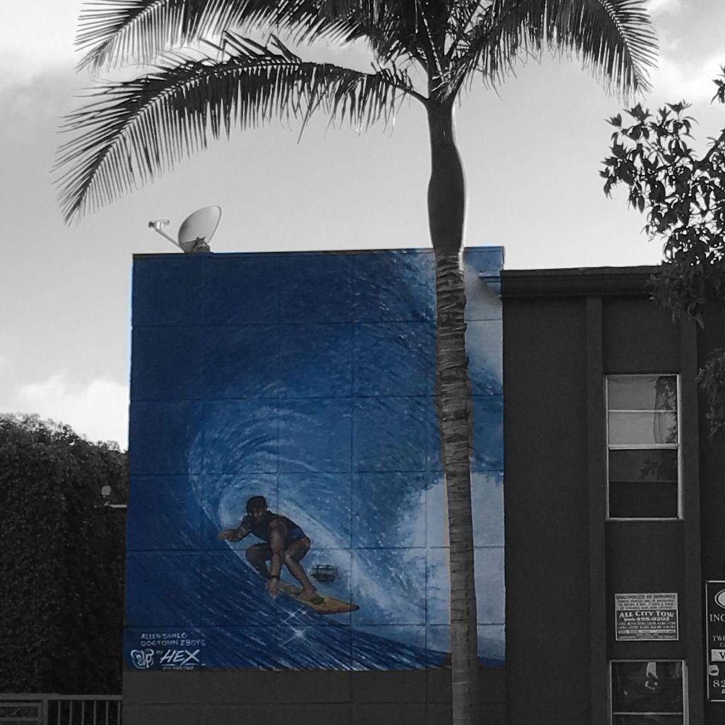 street art in LA by Hex & Keo