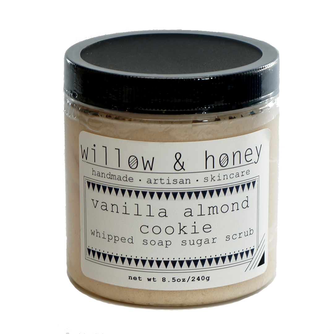 vanilla cookie scrub by Willow & Honey