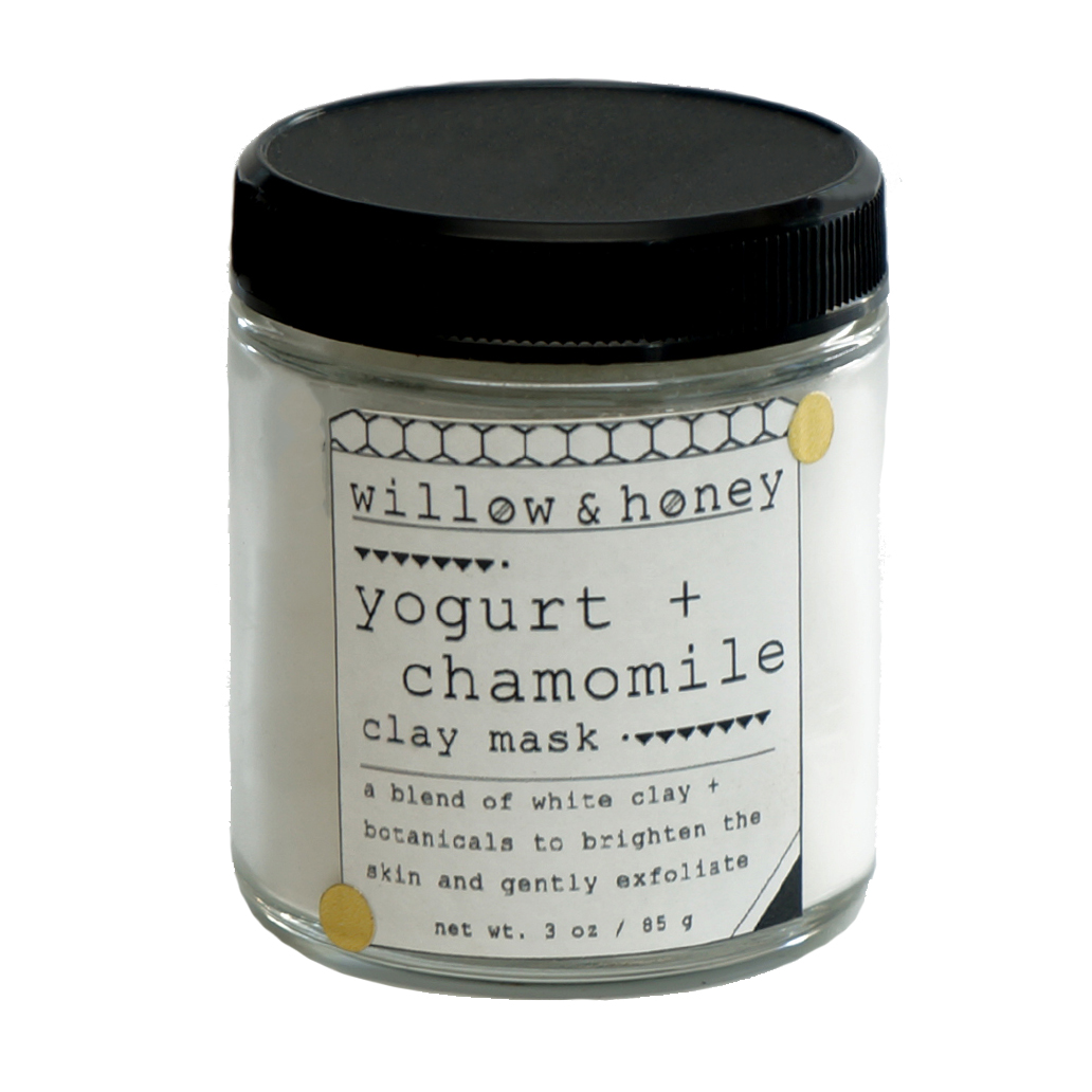 Willow & Honey Yogurt & Chamomile Clay Mask